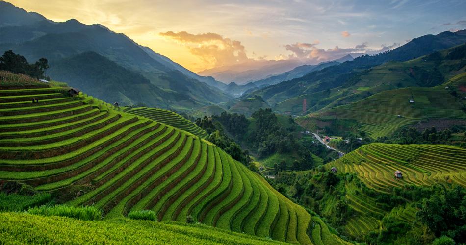 Vietnam - Hanoj z Mnichova