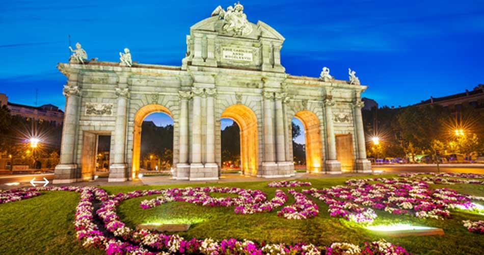 Madrid na prodloužený víkend z Bratislavy či Prahy od 843 Kč