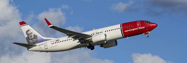 Norwegian: nově Londýn – Rio