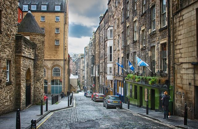 Edinburgh na pár dnů z Prahy