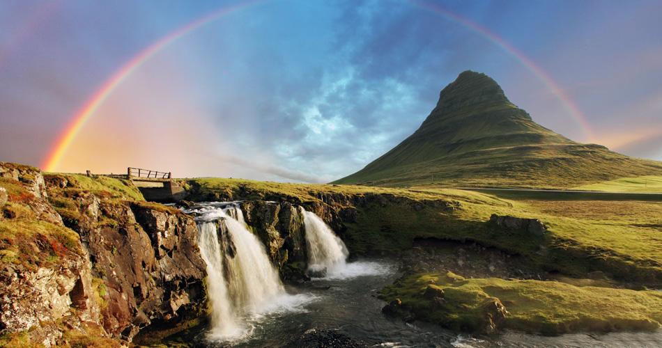 Island s báglem z Německa