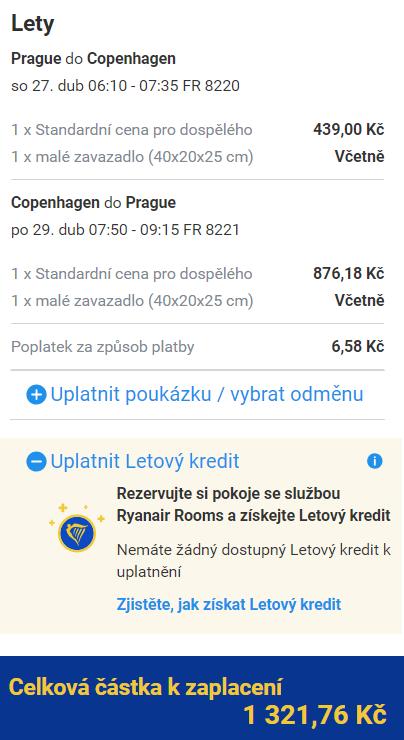 Jarní víkend v Kodani z Prahy za 1 322 Kč