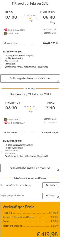Mauricius z Prahy za 10 816 Kč