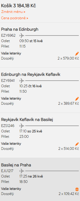Eurotrip 3v1 s cílem na Islandu z Prahy za 1 592 Kč