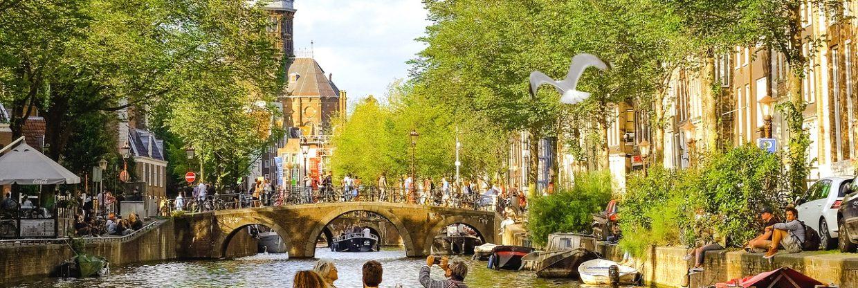 Amsterdam v červnu
