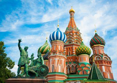 Moskva přímým letem z Prahy za 2020 Kč