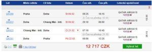 Do Thajska či na Srí Lanku s Qatar Airways od 12 717 Kč
