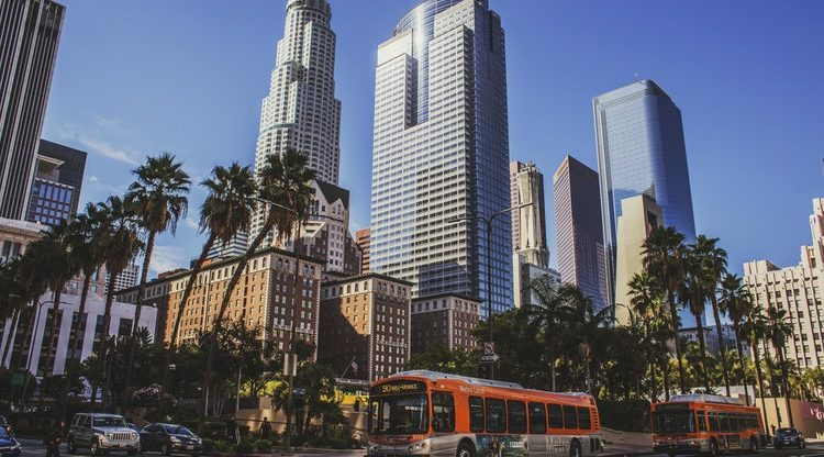 Los Angeles z Vídně