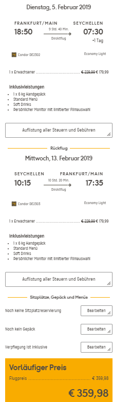 Seychely z Prahy za 9 699 Kč