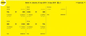 Indonésie - Jakarta z Berlína za 9 433 Kč