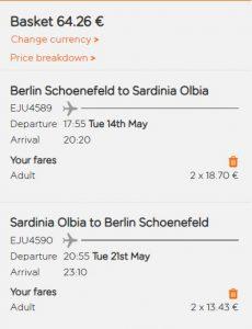Sardinie z Berlína od 831 Kč