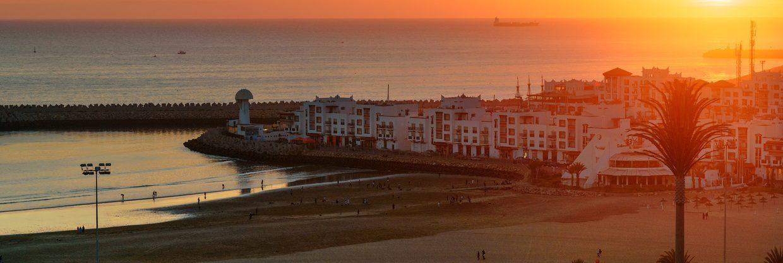 Světové surfování a poznávání kultury v marockém Agádíru