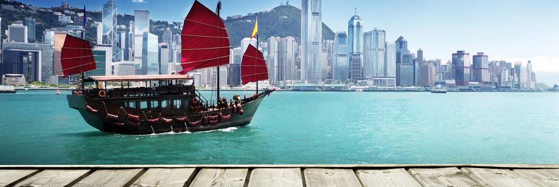 Hong Kong z Vídně a Mnichova