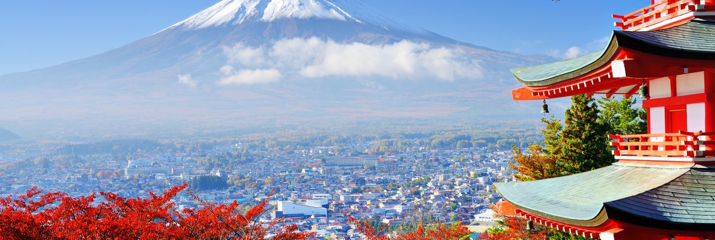 Japonsko z Prahy – velký přehled letenek od 12 408 Kč