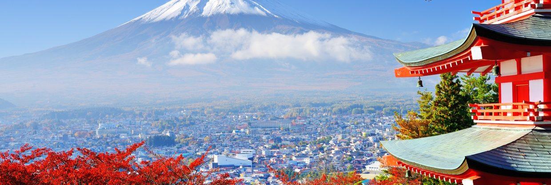 Japonsko z Prahy - velký přehled letenek