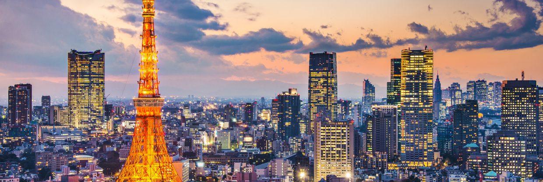 Japonsko - Tokio z Vídně a Prahy