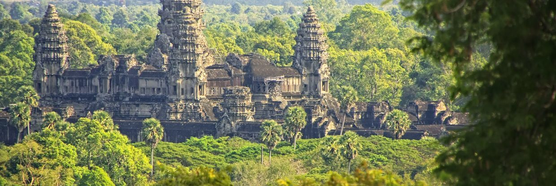 Kambodža - Phnom Penh z Mnichova