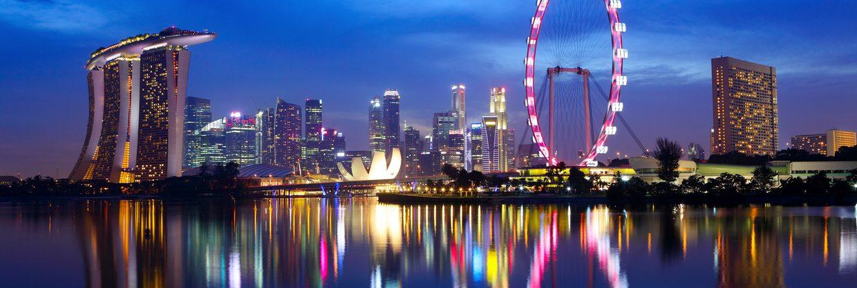 Singapur z Berlína za 8 219 Kč