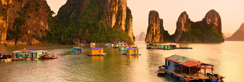 Vietnam z Vídně za 9 900 Kč