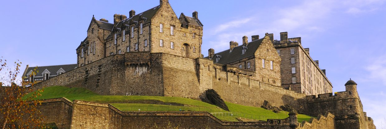 Skotsko - Edinburgh z Prahy