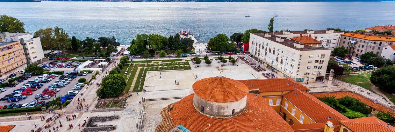 Zadar v létě z Prahy