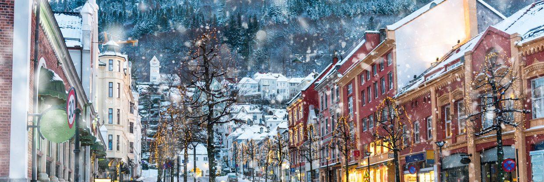 Norsko – Bergen z Katowic za 478 Kč