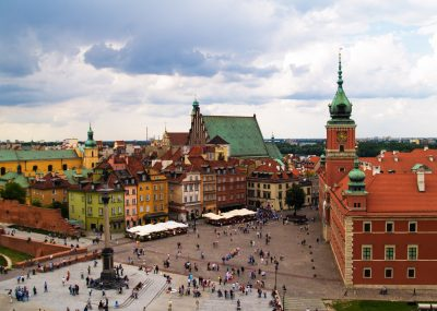 z Prahy do Varšavy