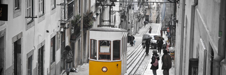 (Pod)zimní Lisabon z Vídně