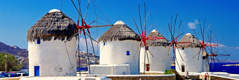 Babí léto na řeckém ostrově Mykonos – z Vídně