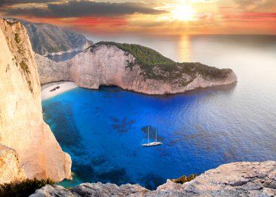 Z Vídně na řecký ostrov Zakynthos během léta