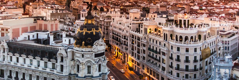 Madrid z Vídně za 512 Kč