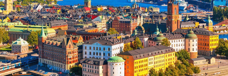 Květnový Stockholm z Prahy od 518 Kč