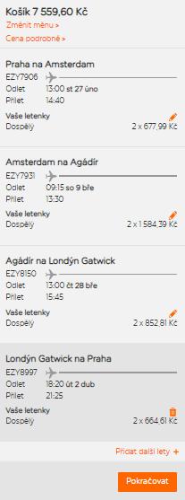 Jak si koupit letenku u Easyjetu?