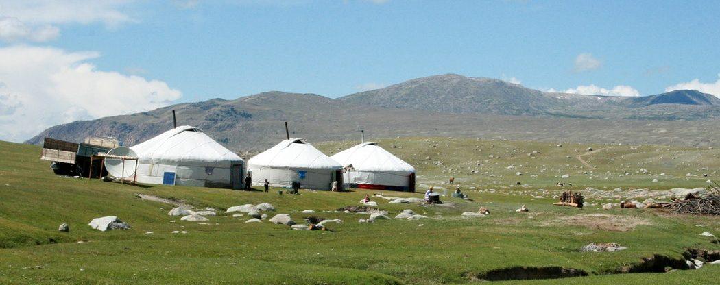 Mongolsko - Ulánbátar z Vídně