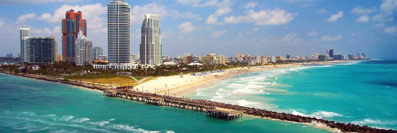Miami přímým letem z Mnichova za 7 757 Kč