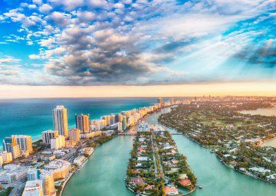 Do vyhřátého Miami během zimy a jara z Prahy