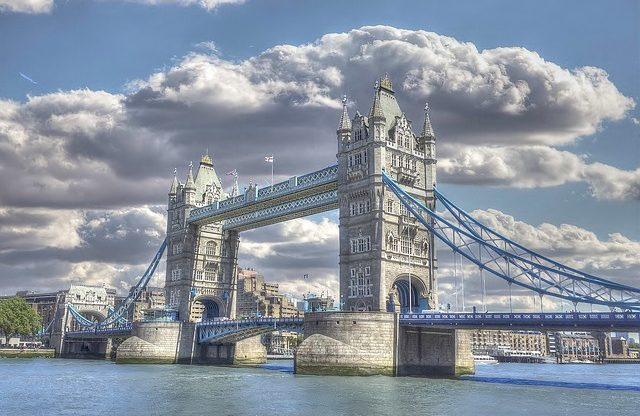 Londýn z Pardubic