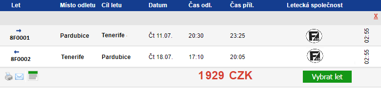 Air Fischer zahajuje provoz a prodává letenky za 1 Kč!