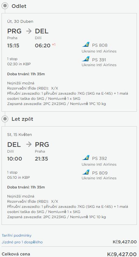 Indie - Dillí z Prahy od 9 427 Kč