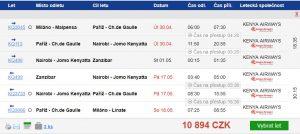 Květnový Zanzibar z Milána za 10 894 Kč