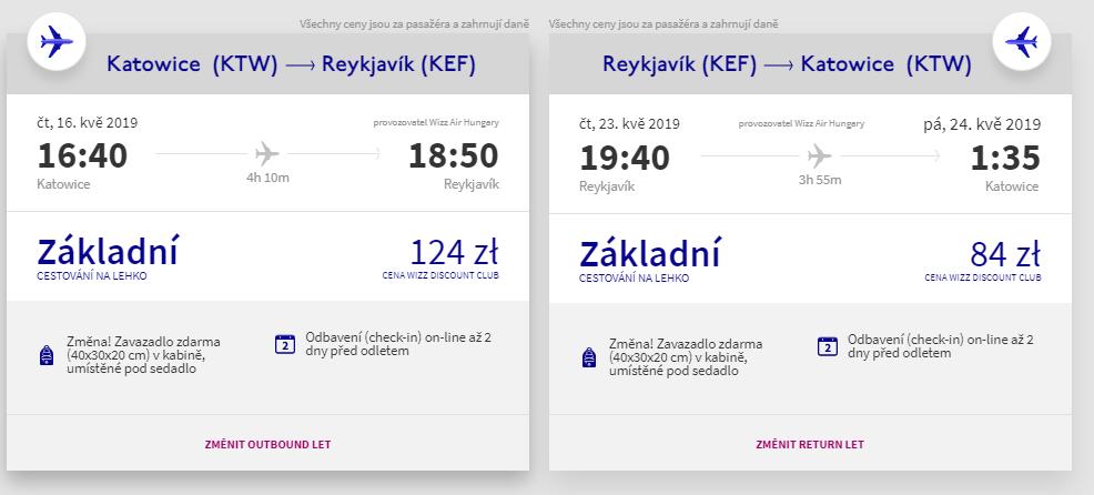 Jarní Island z Katowic, Vídně a Wroclawi od 1 363 Kč