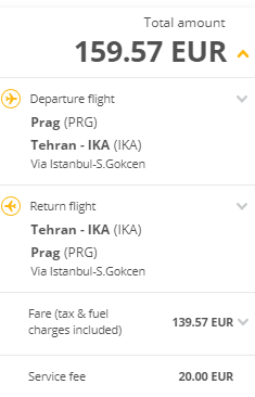 Írán - Teherán z Prahy za 4 105 Kč