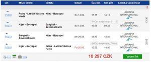Bangkok z Prahy za 10 297 Kč