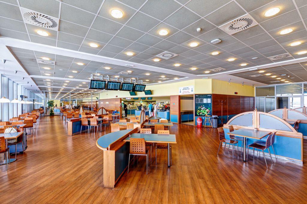 Vychytávky na pražském letišti