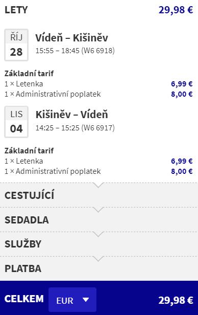 Nové linky z Vídně by Wizzair