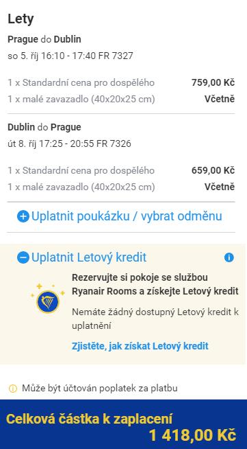 Dublin z Prahy na prodloužený víkend za 1 418 Kč