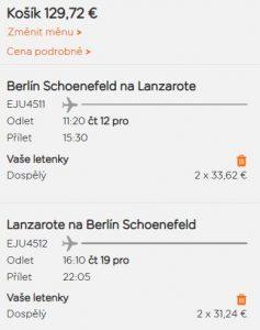 Prosincové Lanzarote z Berlína od 1 661 Kč