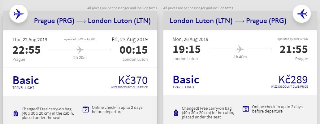 Londýn – víkendy během léta od 659 Kč