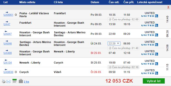 Chile z Prahy s návratem do Vídně/Berlína od 12 053 Kč