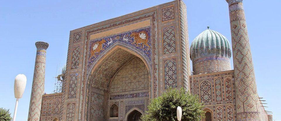 Uzbekistán - Samarkand z Prahy